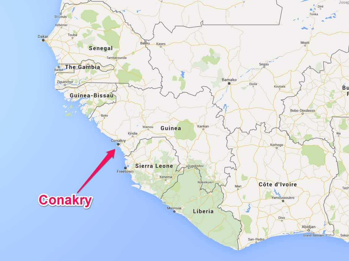 Conakry inaugurates two ZPMC STS cranes