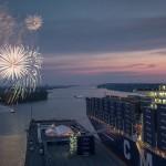 As ships get bigger in Hamburg, so do peaks in truck visits