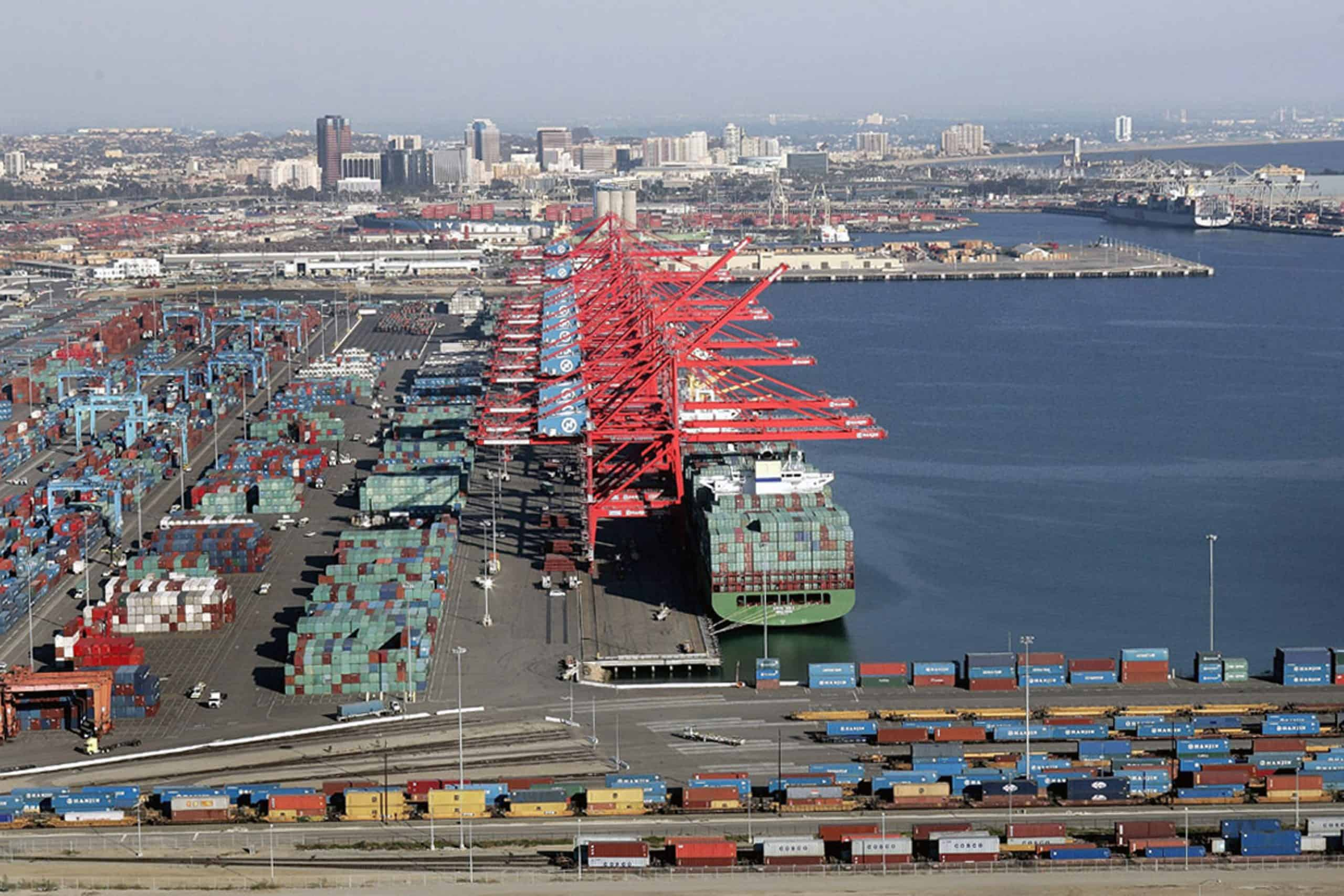 Long Beach records steep fall in container volumes