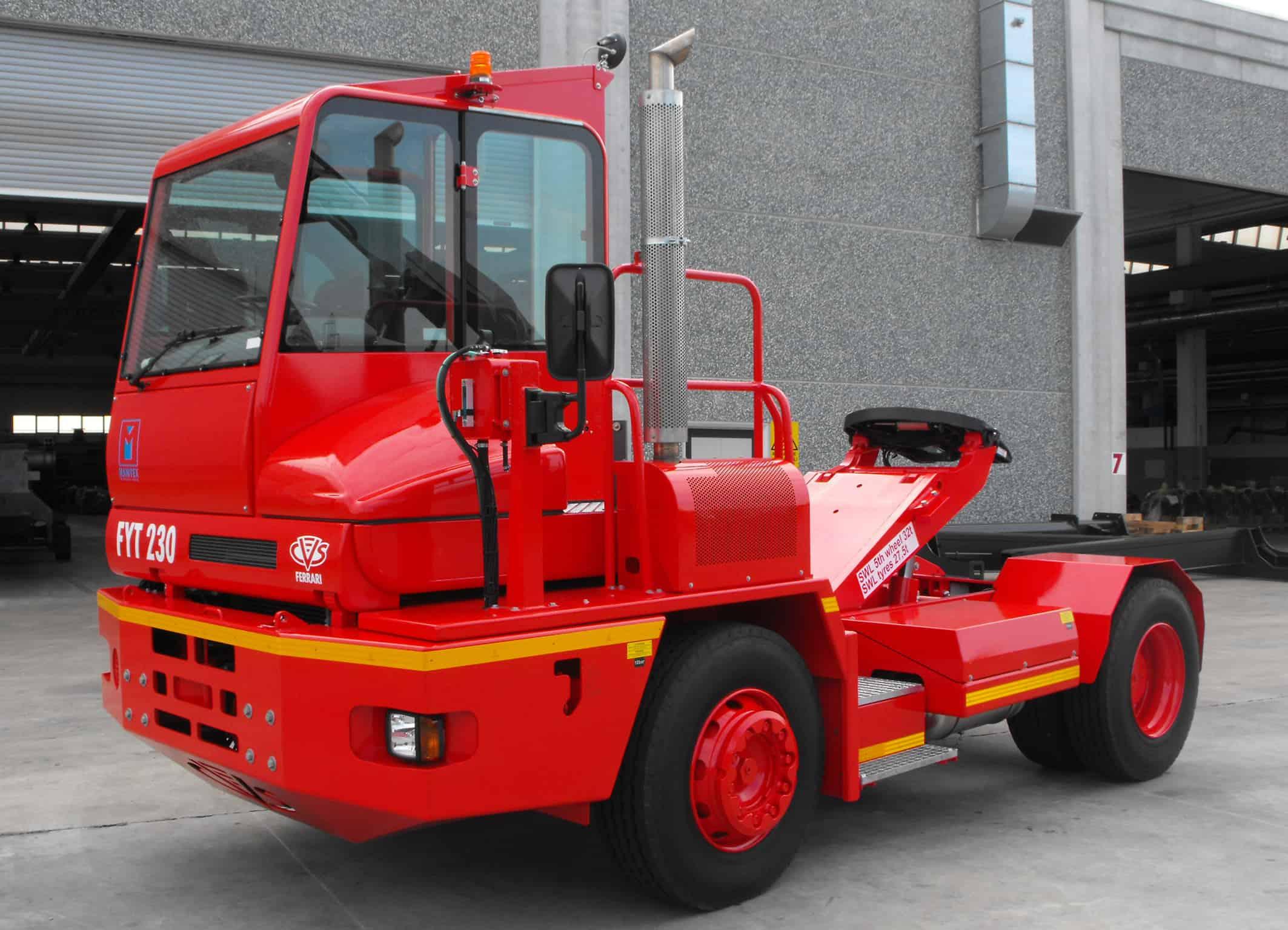 Terex acquires CVS Ferrari's terminal tractors