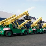 The new reach stackers will join eight already operated by the company