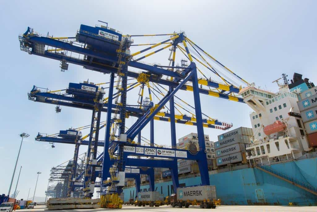DP World deploys first ERTGs in Jawaharlal Nehru Port
