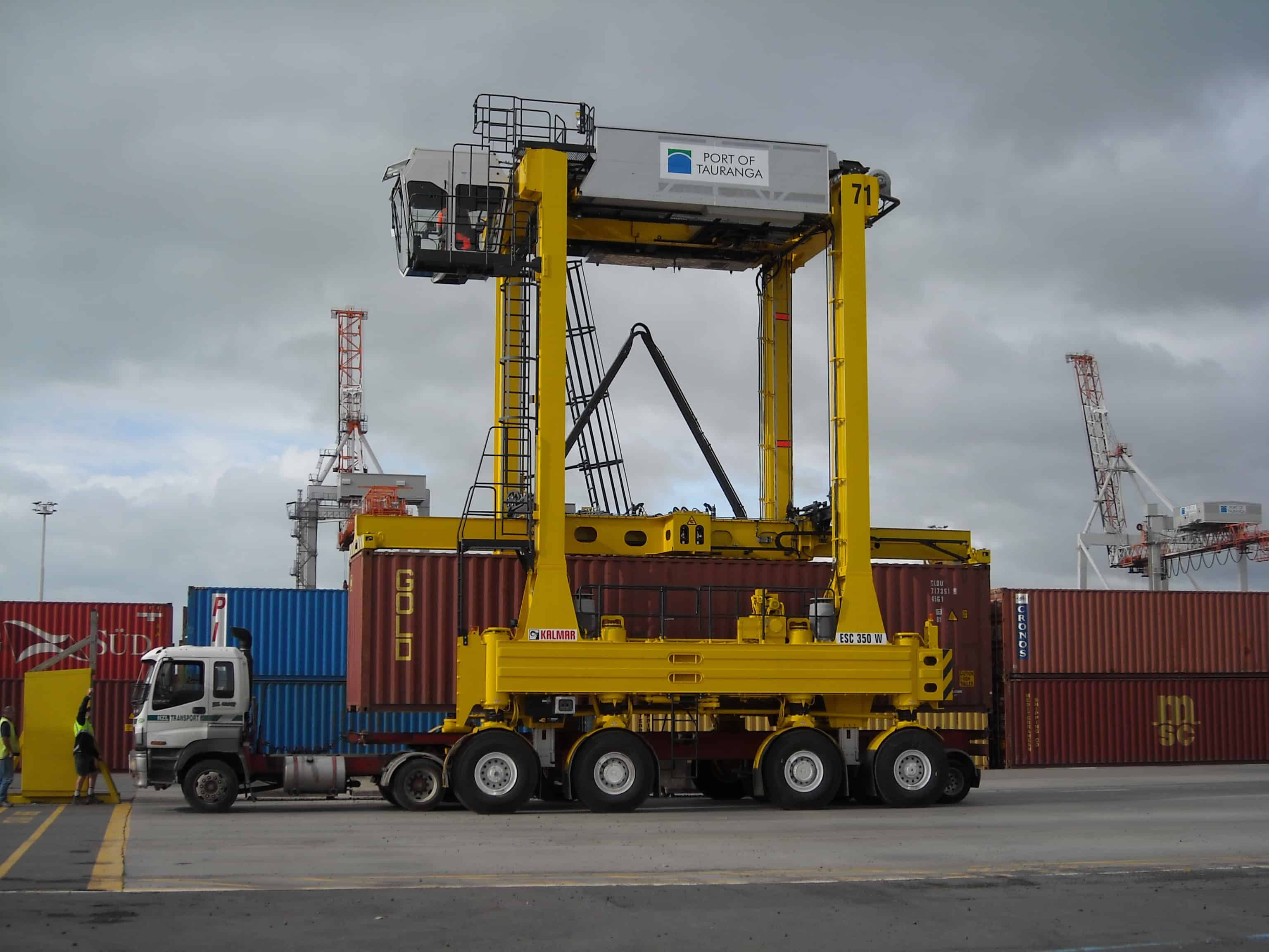 Kalmar receives new order from the Port of Tauranga