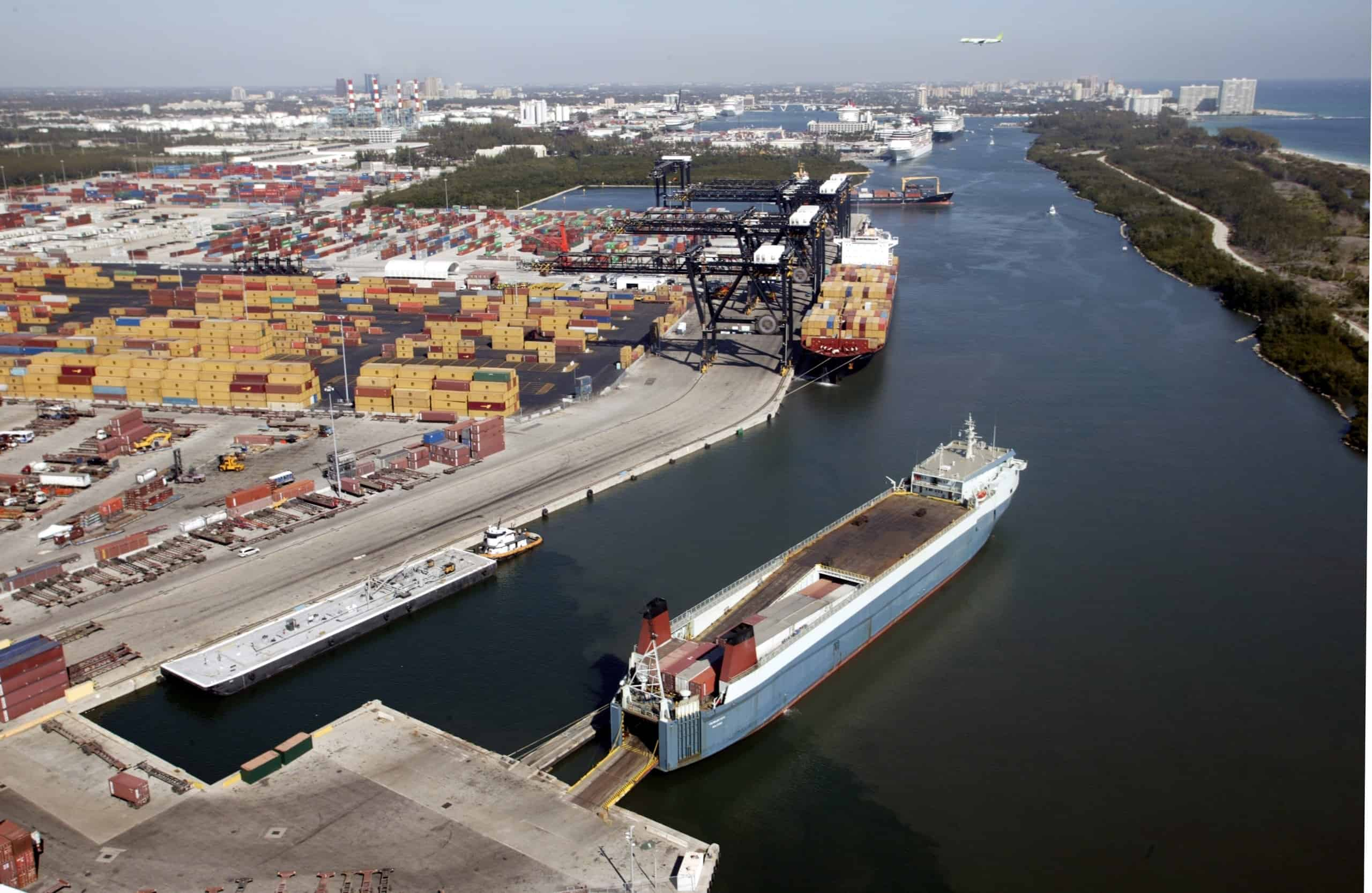 Crowley renews lease agreement for Port Everglades' terminal