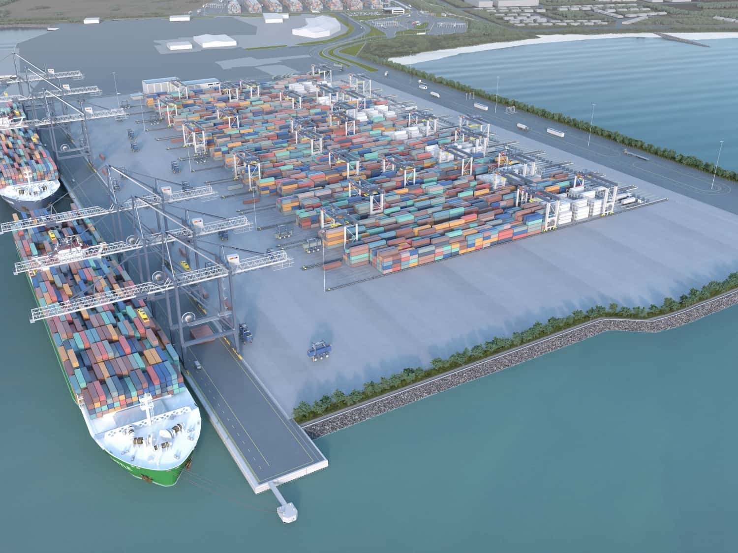 ICTSI secures US$302m financing for VICT's construction