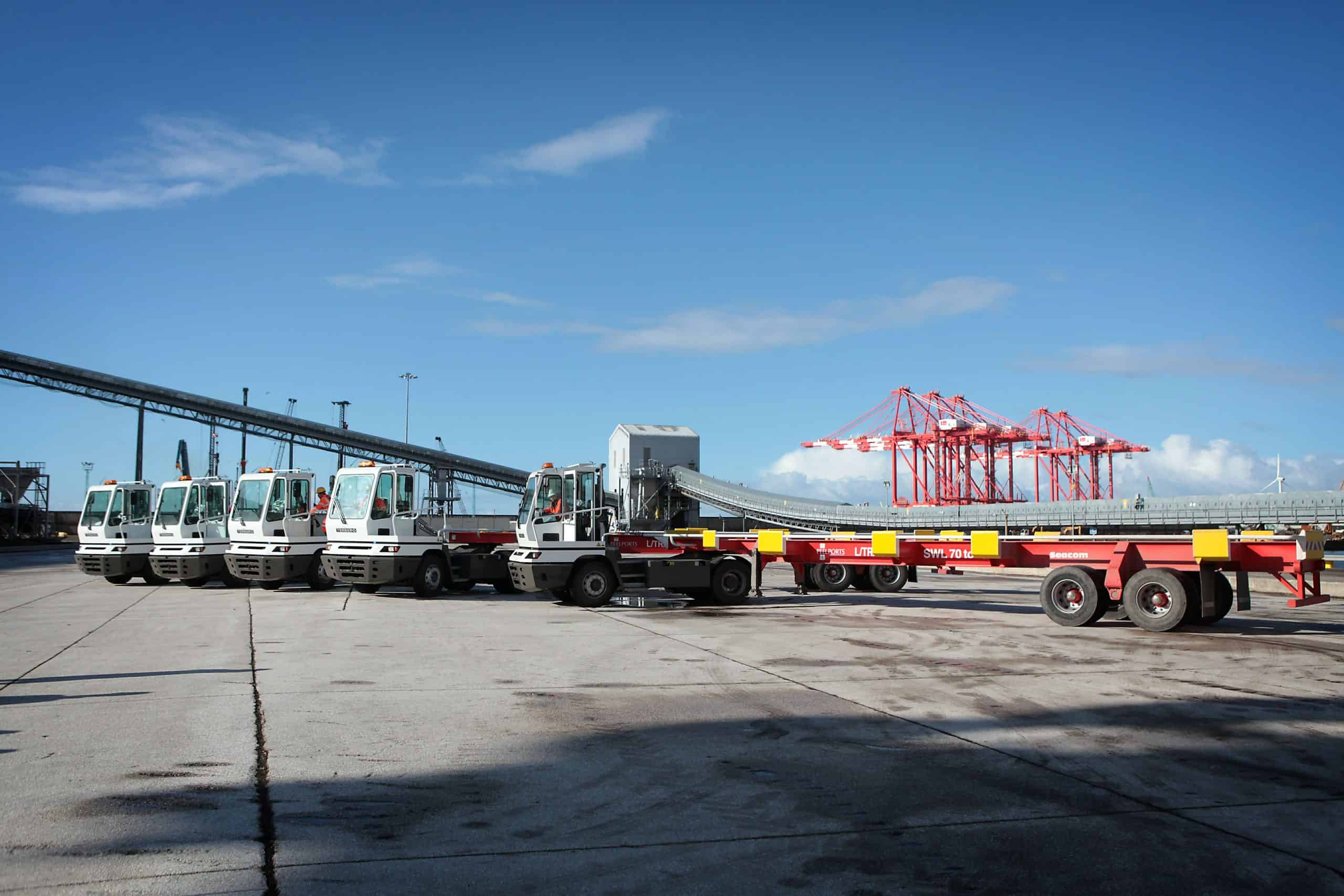 Terberg terminal tractors arrive in Liverpool