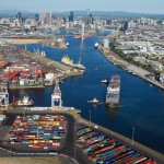 The Port of Melbourne was put up for sale by the Victorian government