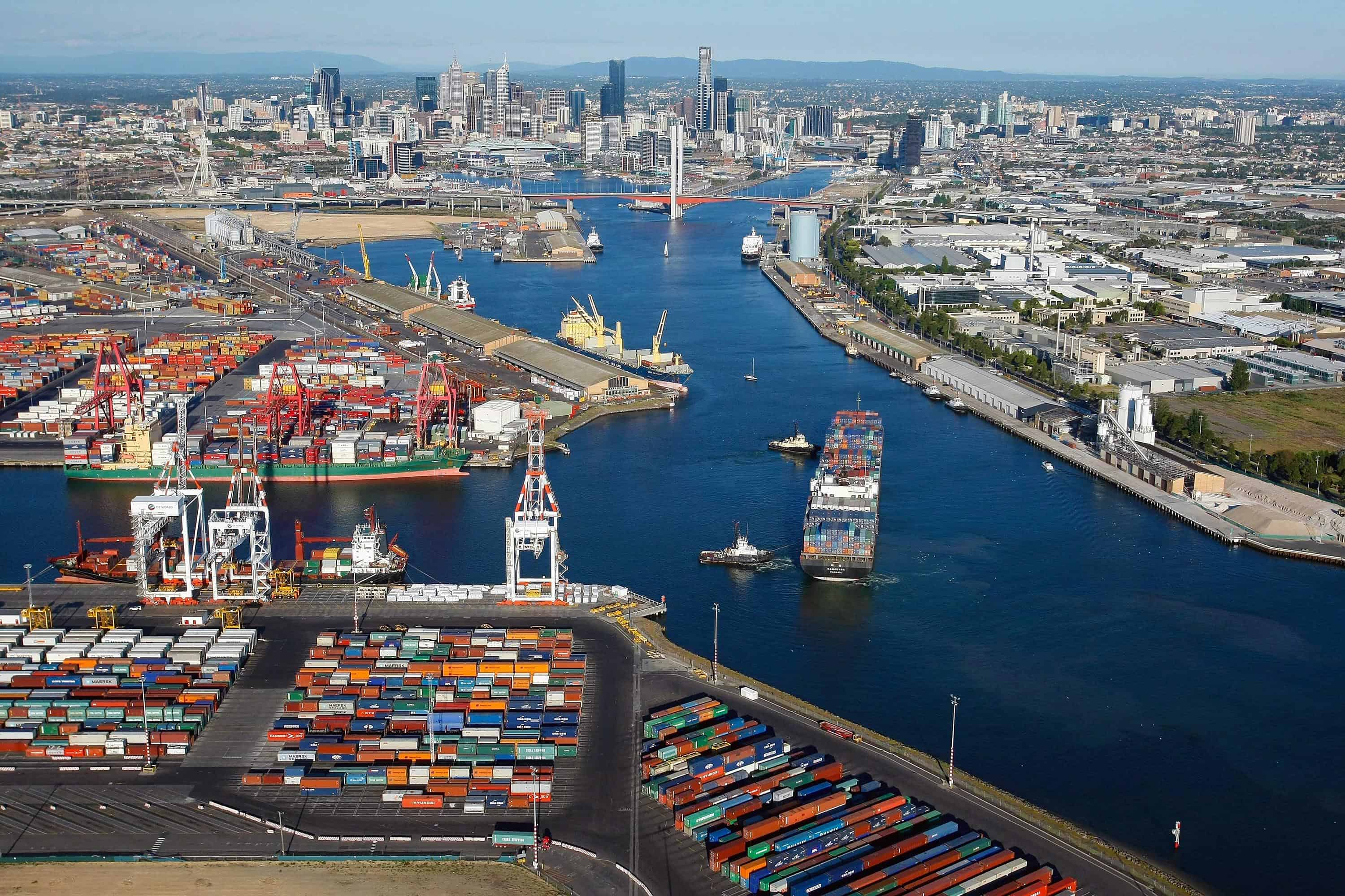 China Merchants to bid for Melbourne's lease