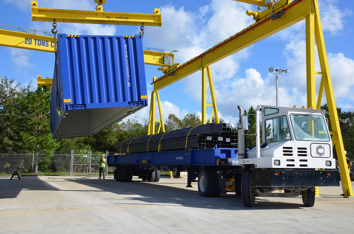 New hybrid container for breakbulk cargo launched