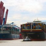 Container traffic went up by just 0.1% year-on-year