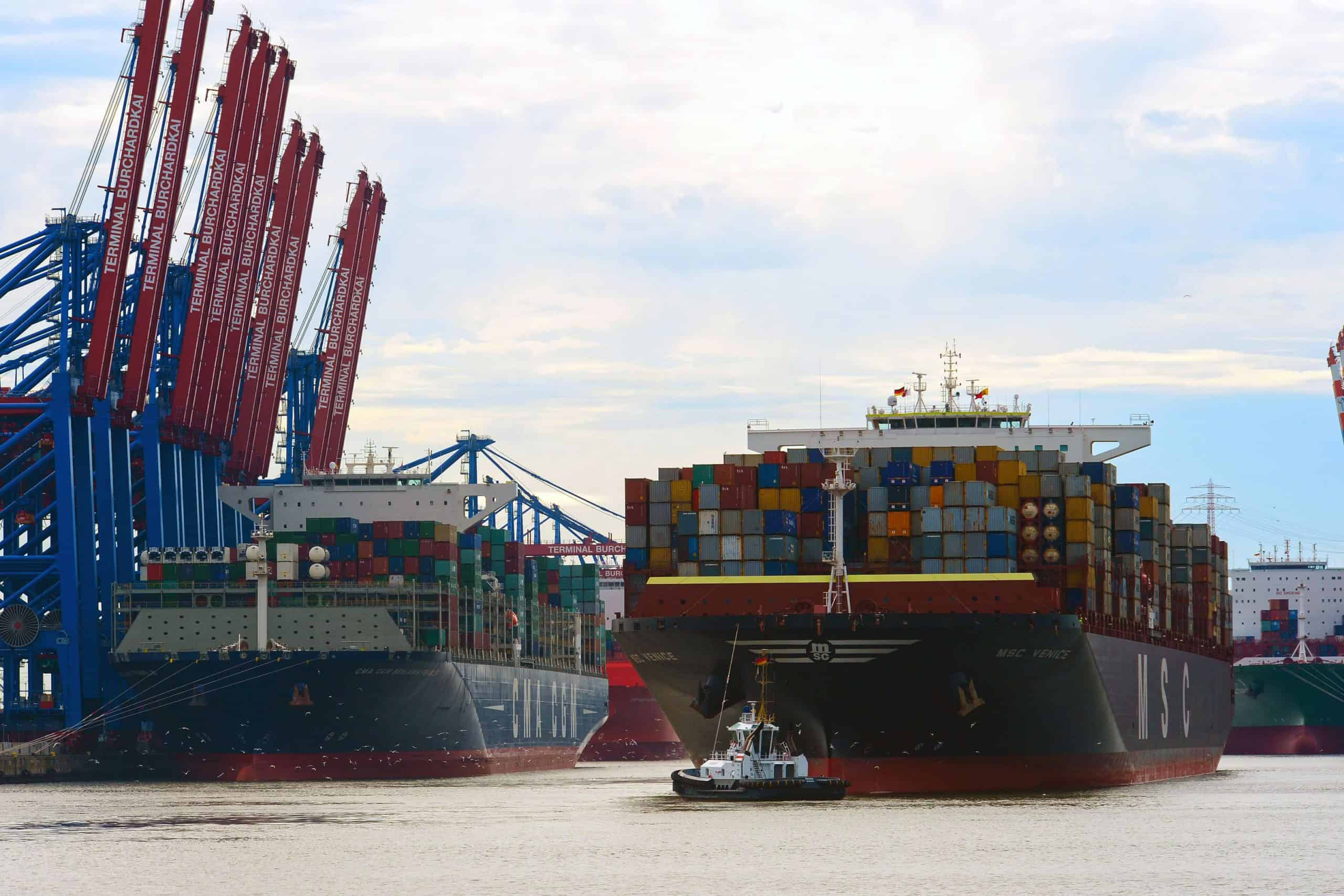 Hamburg reports no growth in container traffic