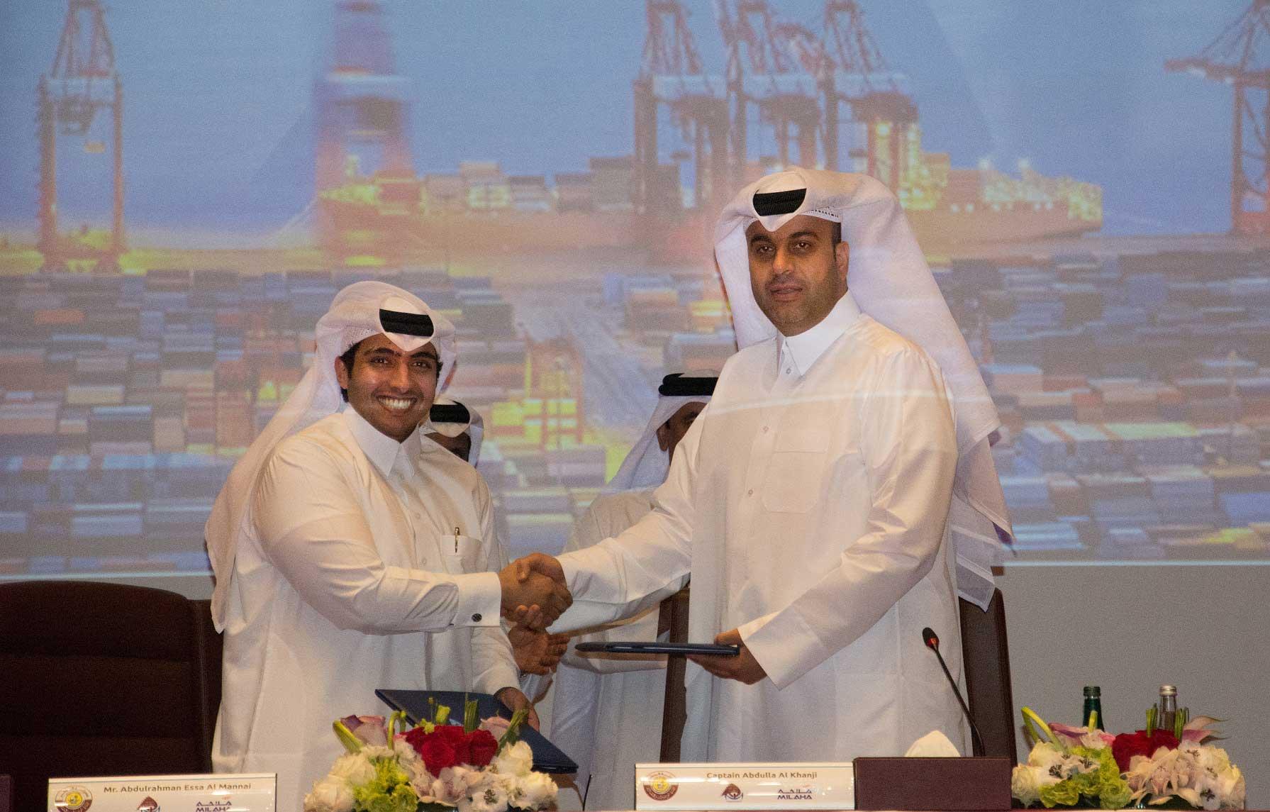 Mwani Qatar and Mihala agree to manage Hamad Port