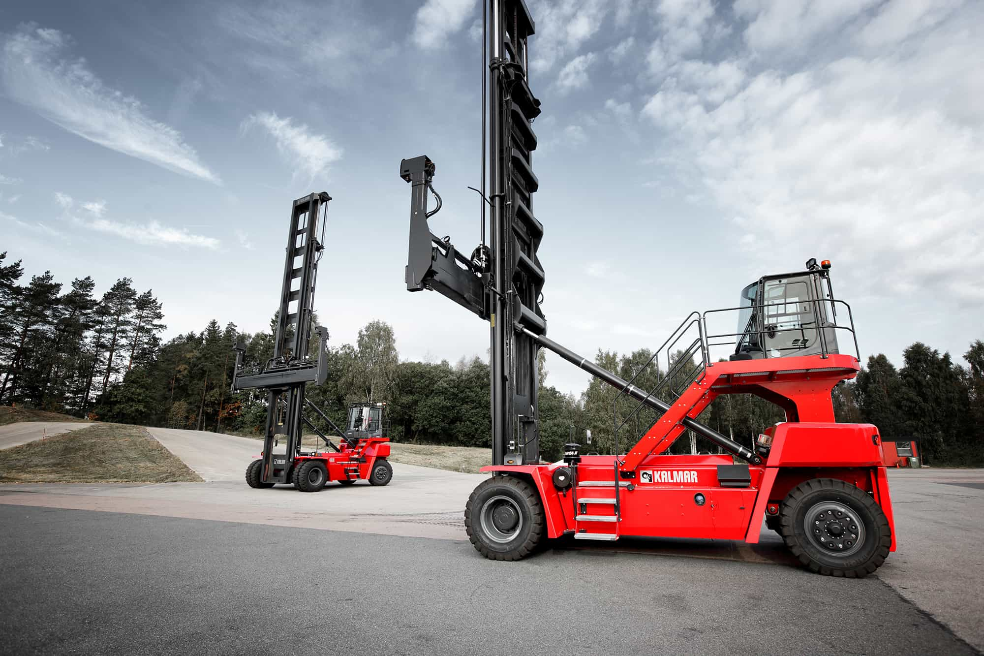 Kalmar Launches New Empty Container Handler Container