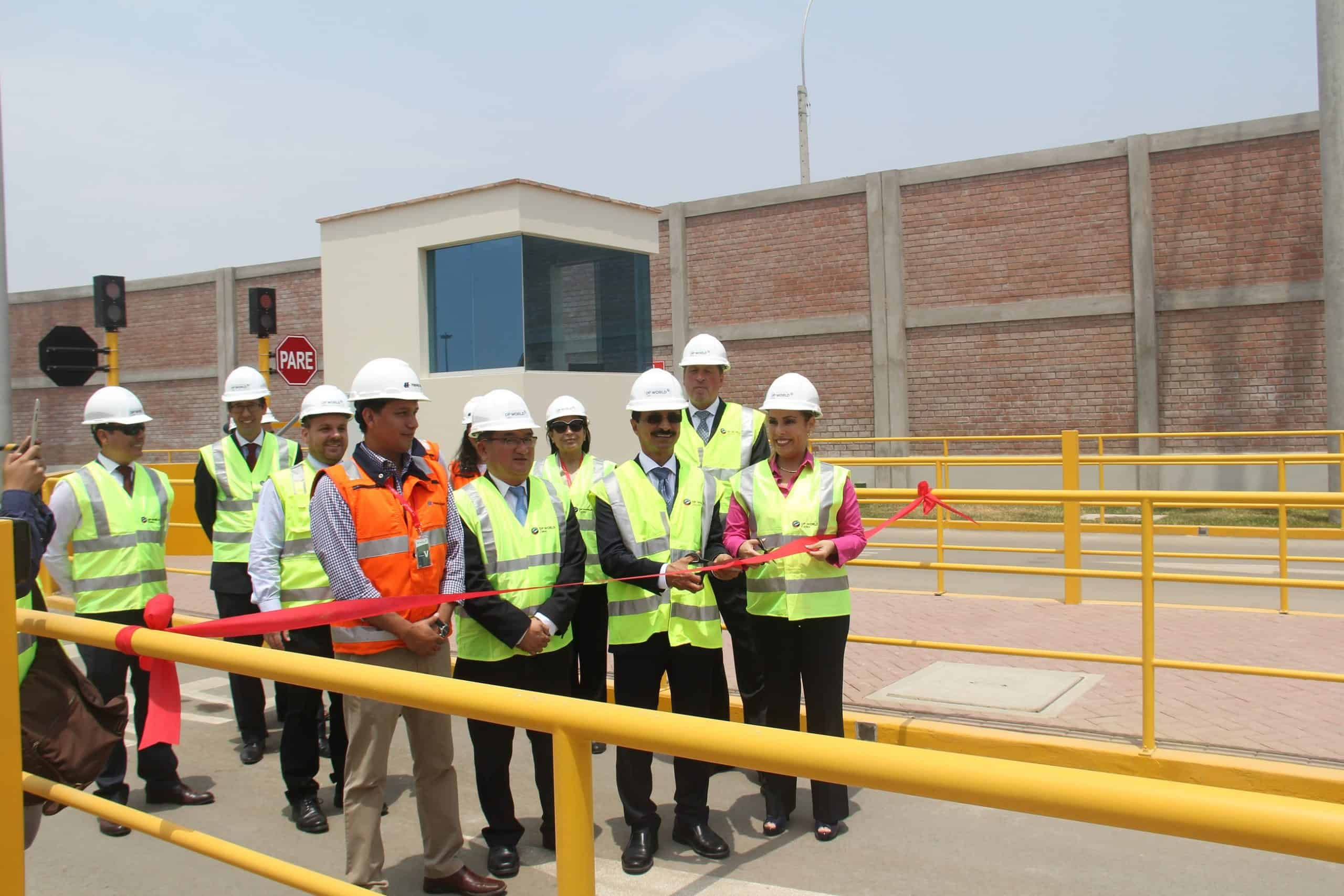 DP World opens logistics centre in Peru