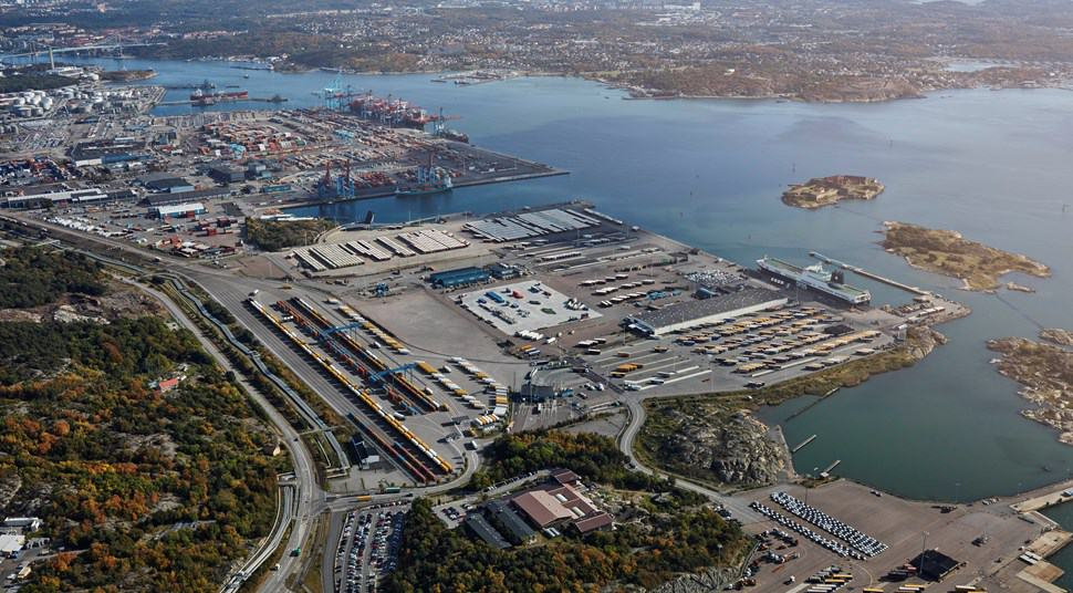 Gothenburg intermodal terminal to open in December 2017