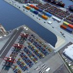 The yard will be able to handle 430,000 teu annually