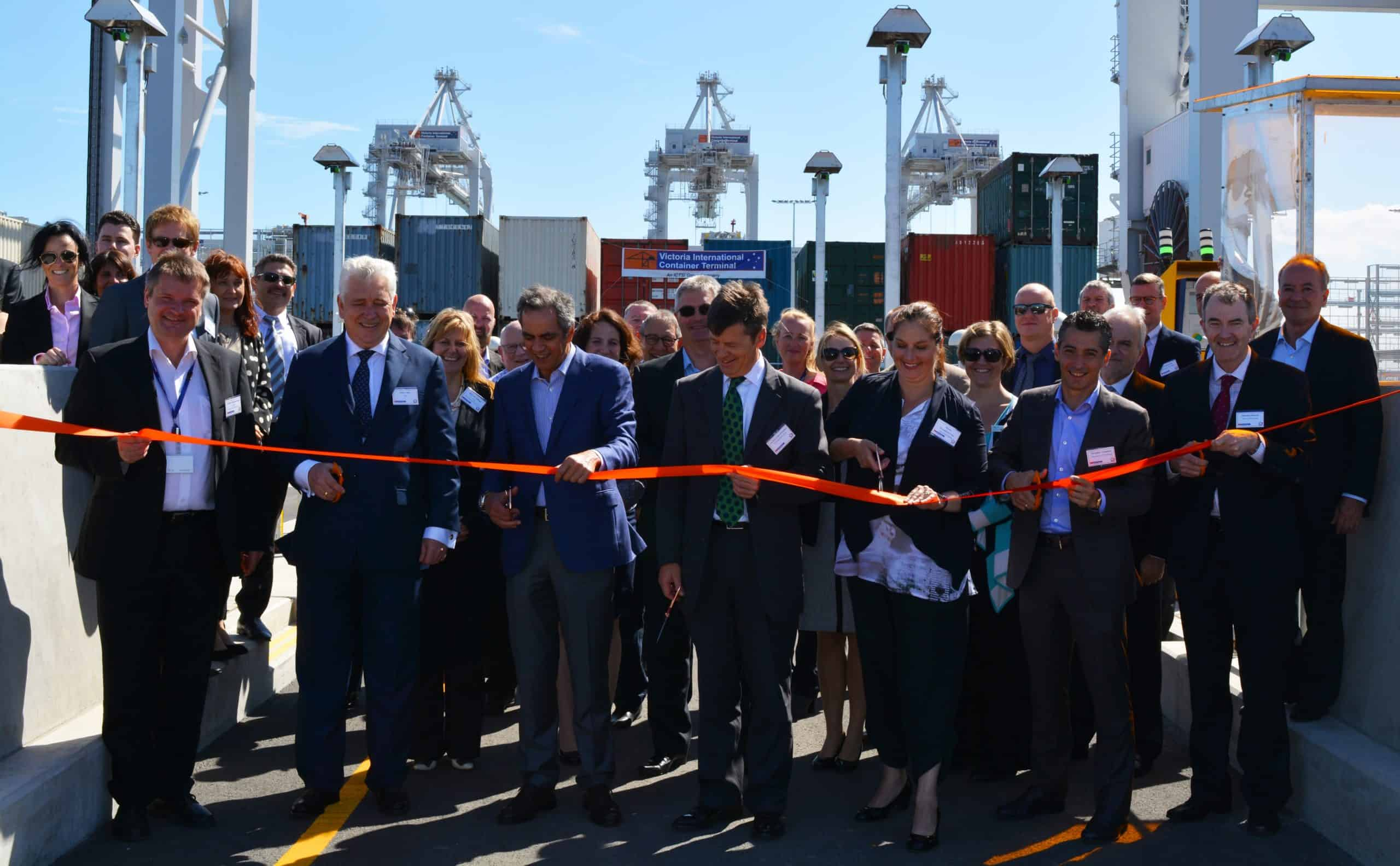 ICTSI completes Melbourne terminal construction