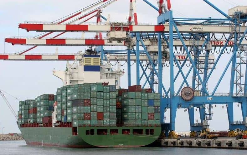 Ashdod container volumes up 11%