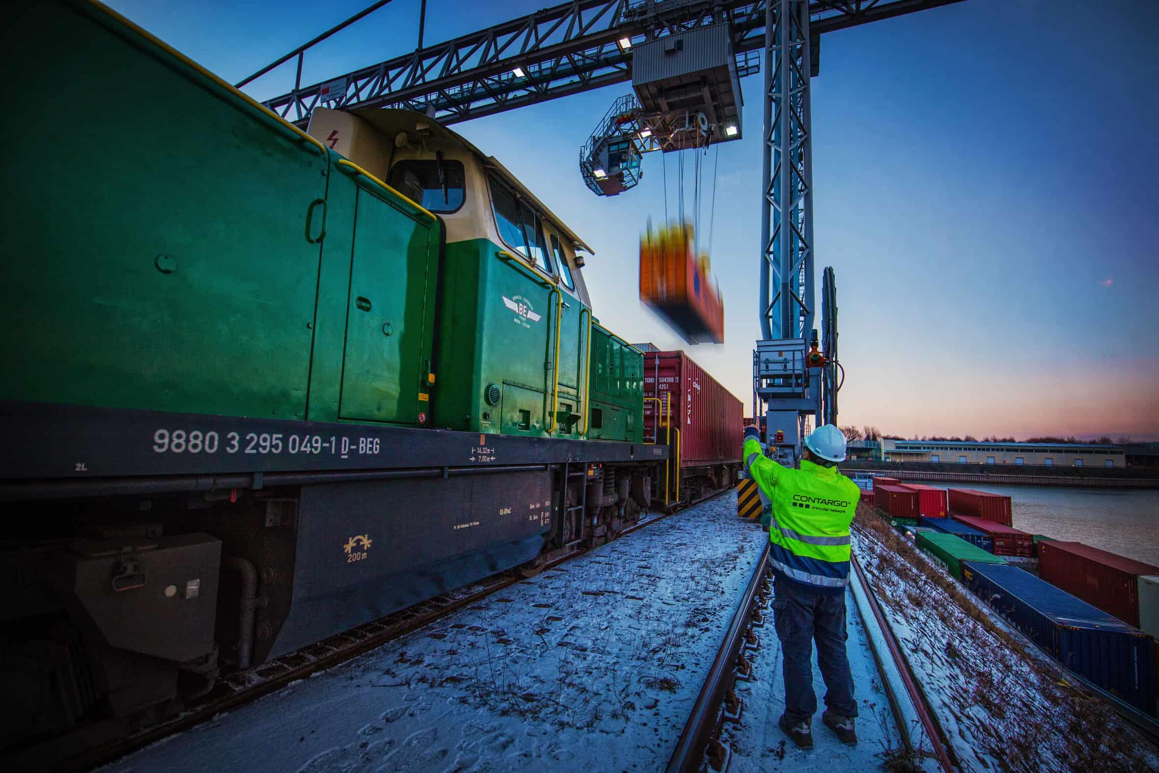 New Germany-Rotterdam rail service launches
