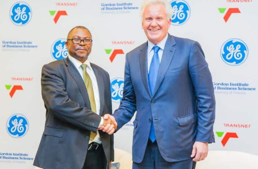 Transnet and General Electric announce digitisation plan