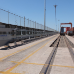 Lázaro Cárdenas Terminal had its first electrification project in 2011