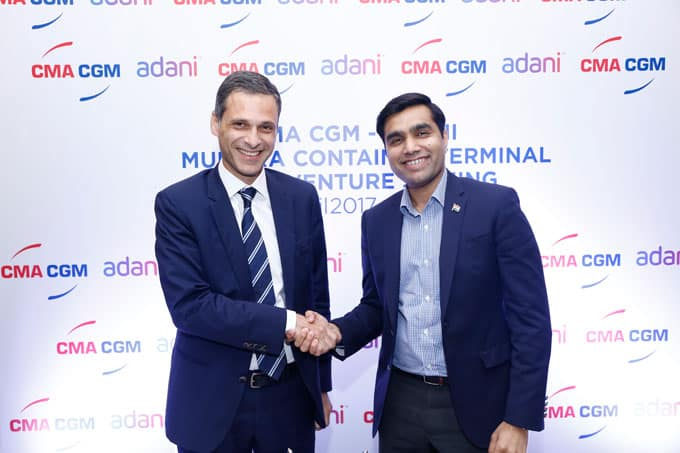 CMA CGM and Adani to operate Mundra's new terminal
