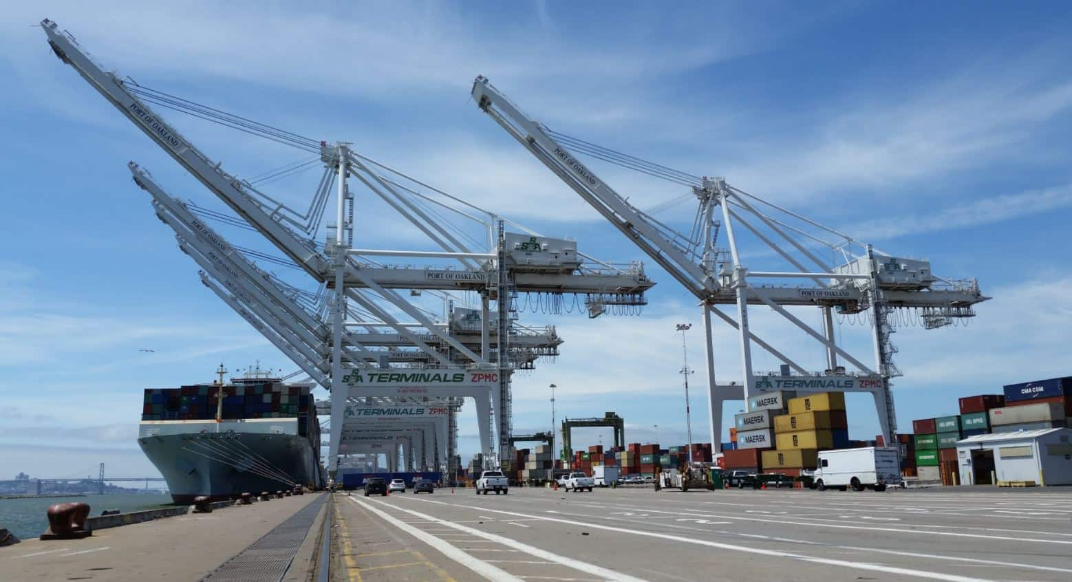 Four STS cranes to be heightened in Oakland