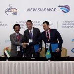 The signing was made at the Astana Economic Forum