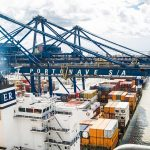 The terminal has an annual capacity of 1.5m teu