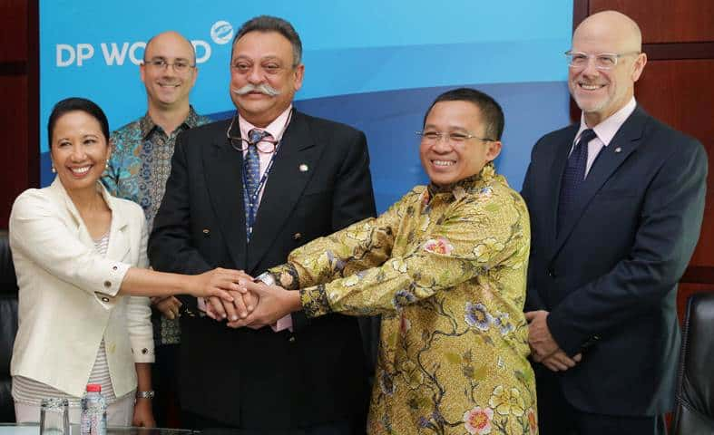 DP World signs agreement with Indonesian government
