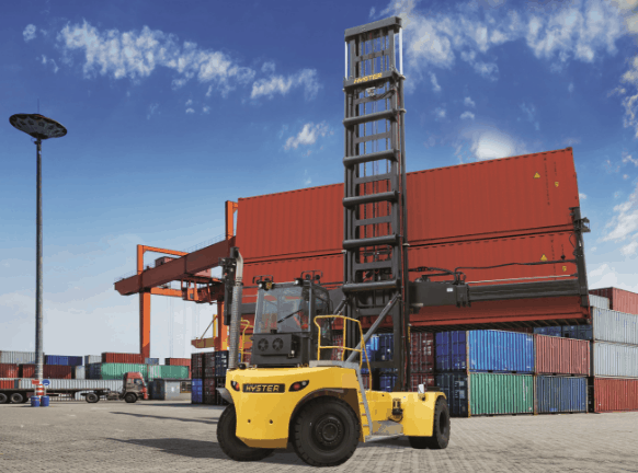 Hyster launches new empty container handler