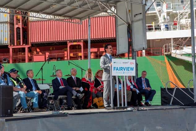 DP World's Prince Rupert expansion is complete