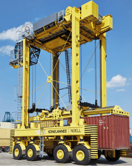 Konecranes to service all MPET's straddle carriers