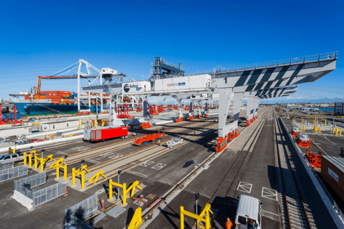 Trapac goes live with Tideworks' Spinnaker at its LA rail terminal