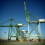 The terminal already has nine STS cranes