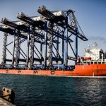 The four ZPMC cranes arrive in Jeddah