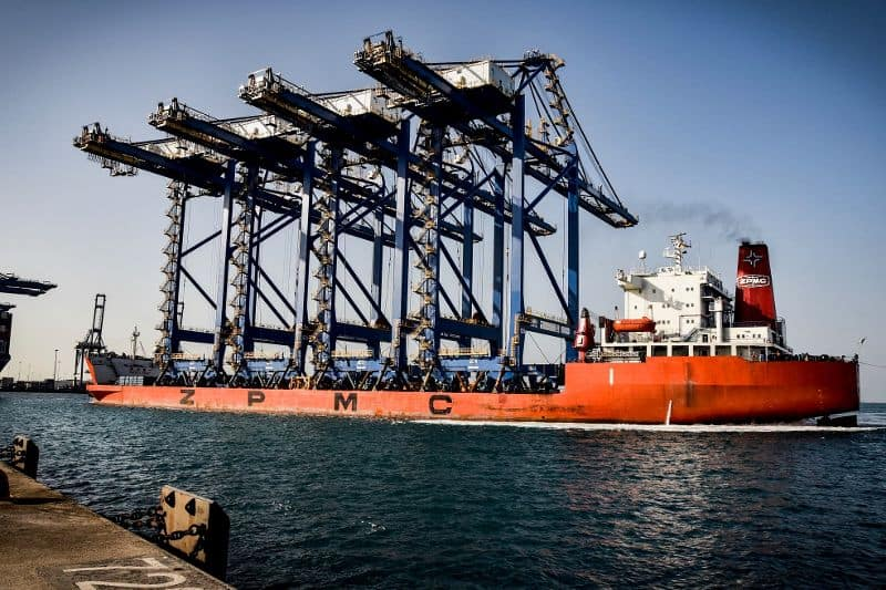 RSGT receives four of world's biggest STS cranes