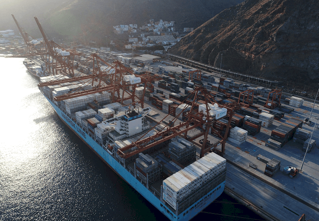TCTenerife receives first transhipment calls