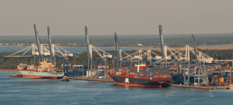 Charleston invests US$282.5m into dredging and cranes