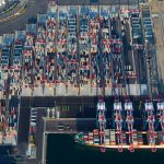 The port has handled 6,234,930 teu in the first ten months of 2017