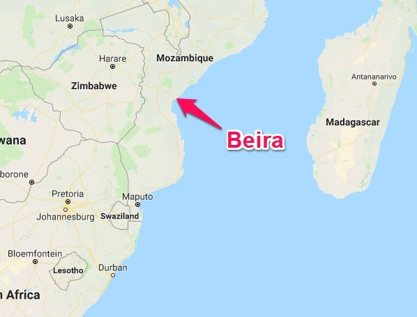 Beira gains access road