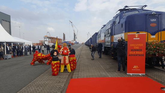 One Belt One Road service links China and Netherlands