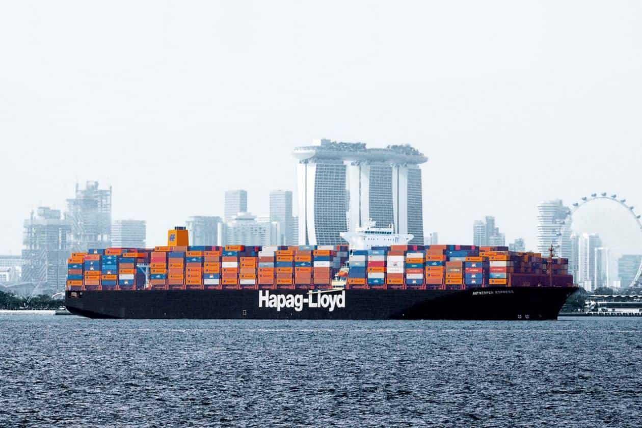 Hapag-Lloyd plans emissions reduction