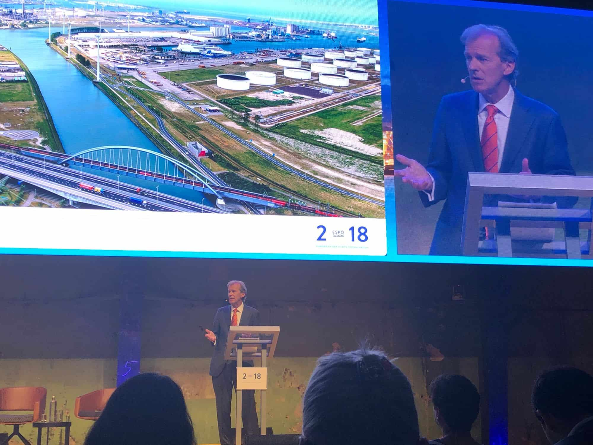 Port of Rotterdam CEO calls for more infrastructure spending from EU