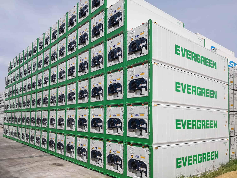 Evergreen adds 3,000 PrimeLINE reefer units