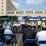 The initiative hopes to reduce New York's reliance on trucks
