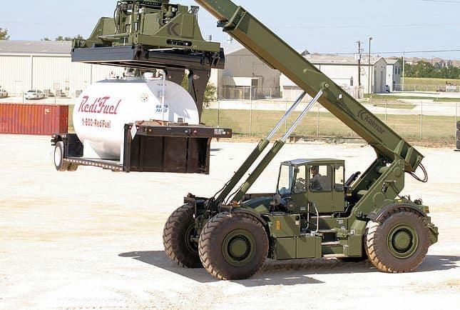 Kalmar sells rough terrain handling business