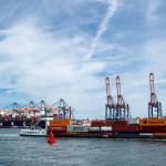 The port handled 7.1m teu