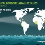 Ships are most at risk in the Gulf of Guinea