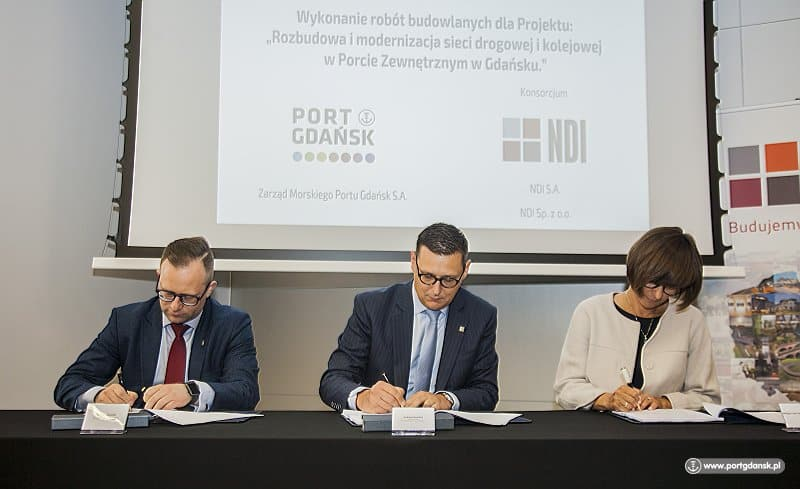 Gdansk to improve intermodal network